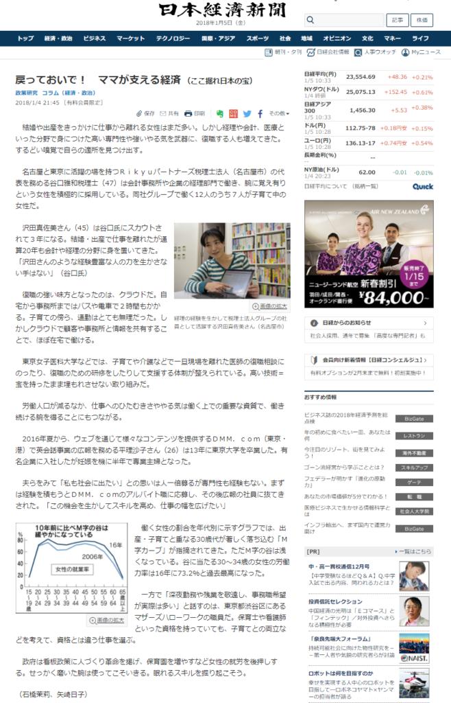 日経電子版2